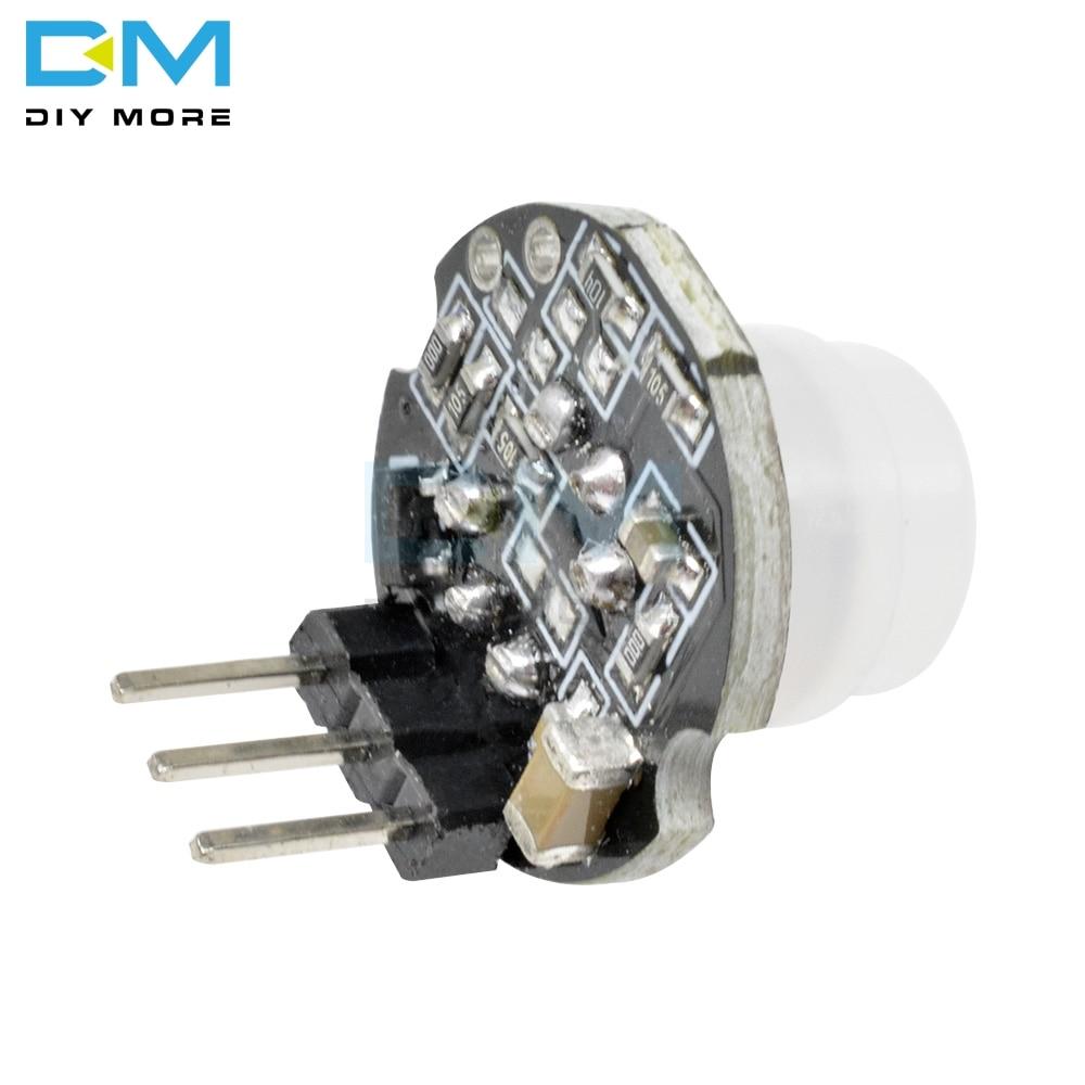 MH-SR602 MINI Motion Sensor Detector Module 3PIN SR602 Pyroelectric Infrared PIR kit sensory switch Bracket For Arduino 3pin Pakistan