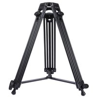 Professional Heavy Duty Video Camera Camcorder Tripod Adjustable Aluminum Alloy Tripod Universal Cameras Accessory