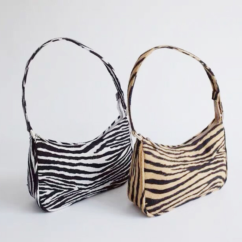 Luxury Handbag Women Bag Designer Ladies Tote Bags For Women Vintage Leather Shoulder Bag Leopards Pattern Women Clutch Purse