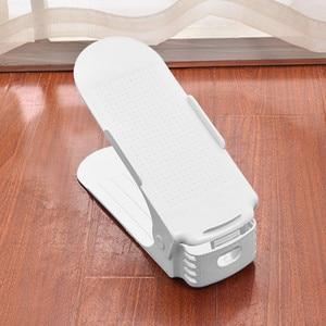 Creative Plastic Shoes Rack Organizer Space-Saving Storage Adjustable Durable Home Storage Accessories 2020 New