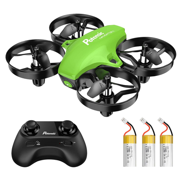 Potensic A20 Mini Drone for Kids Beginners Easy to Fly Headless Mode RC Helicopter Quadcopter Remote Control With 3 Batteries 1