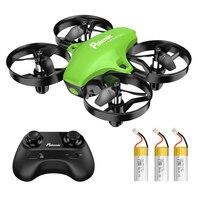 Potensic A20 Mini Drone per bambini principianti facile da volare modalità senza testa RC elicottero Quadcopter telecomando con 3 batterie