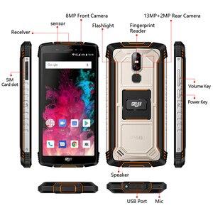 """Image 5 - HOMTOM ZJI Z11 携帯電話 IP68 5.99 """"MTK6750T オクタコアデュアル sim 10000 3000mah のアンドロイド 8.1 フェイスアンロック 4 1GB の RAM 64 ギガバイト ROM スマートフォン"""