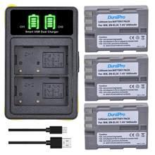 3pc x 1800mAh EN-EL3E EN EL3e Li-ion batterie + chargeur USB avec Port de Type C pour Nikon D70 D70S D80 D90 D100 D200 D300 D300S D700