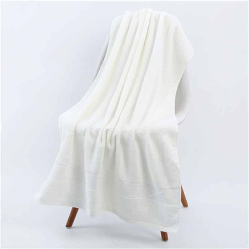 Badhanddoek Grote Grootte Badstof Badjas Hoge Absorberende Badstof Handdoeken Dikke Katoen Effen Badhanddoek Zacht Strandlaken Voor Volwassenen