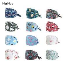 Модная хлопковая шляпа с разноцветным принтом регулируемые шапки