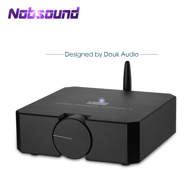 Nobsound High End HIFI Bluetooth 5.0 เครื่องขยายเสียงหูฟังสเตอริโอAMP MOSFET 80W * 2