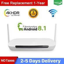 QHDTV Android TV box Germania Arabo Italia Leadcool Q9 RK3229 H.265 Spagna IP Tedesco Olandese QHDTV TV Belgio Nessun app incluso