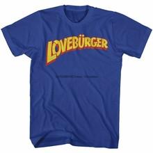 Camiseta adulto real de loveburger mal pode esperar