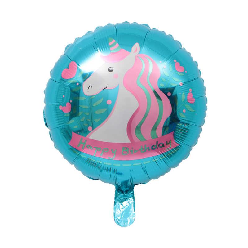 """Partito Palloncino 18 """"Unicorn Stagnola Pallone Ad Elio Per Il Compleanno Decorazione Del Partito Unicorno Stagnola Palloncino"""