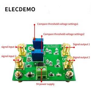 Image 2 - Módulo TLV3501 4.5ns Ultra alta velocidad comparador Rail to Rail salida voltaje comparación doble función de comparación Placa de demostración