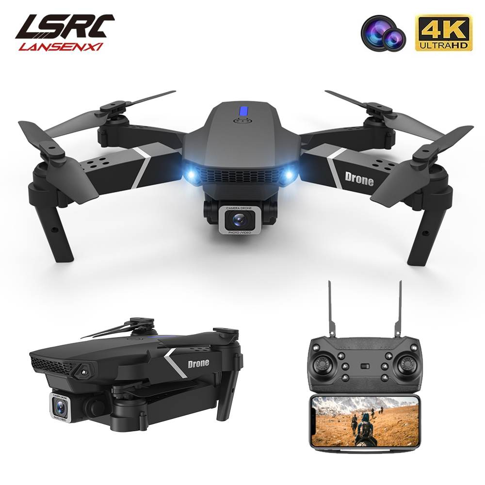 LSRC 2020 New Quadcopter Drone E525 HD 4K 1080P Camera and WiFi FPV HeightKeeping RC Foldable Quadcopter Dron Toy Gift 1