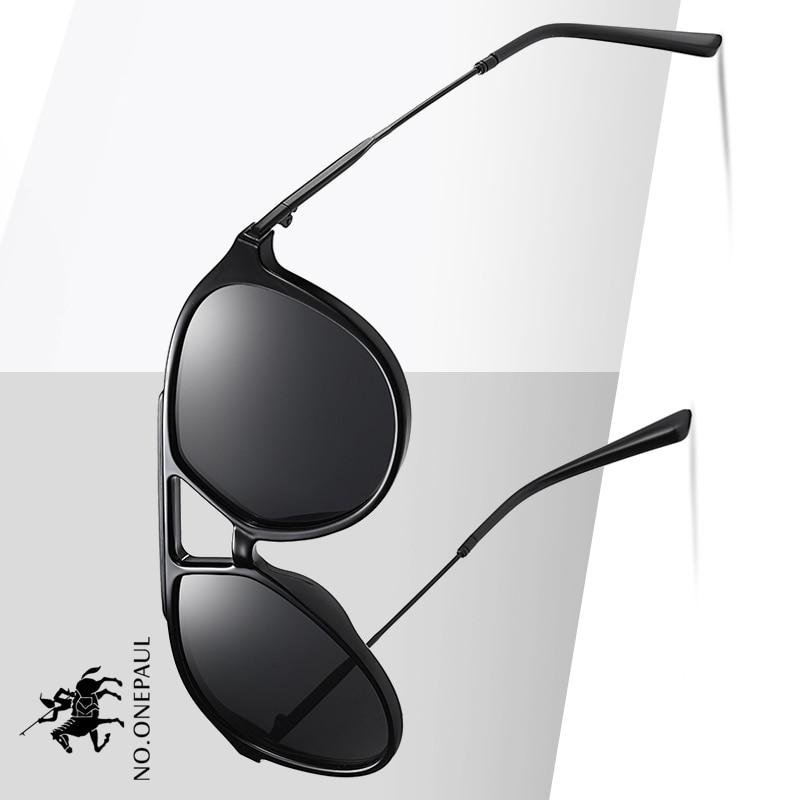 NO.ONEPAUL Oculos De Sol Male UV400 Mirror Eyewear Classic Men Sunglasses Luxury Brand Women One Sun Glasses Square Retro