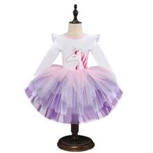 Girls Dress Long Sleeve Kids Flower Dresses Children Vestidos 2020 spring 2 6yrs  Girls Dresses Autumn Kids Dress For Girl Dress