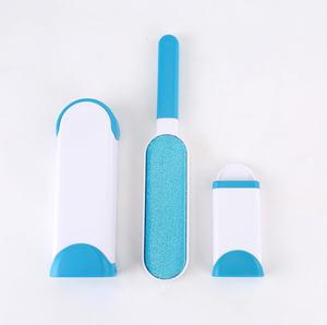 Dog Comb Tool Pet Hair Remover Brush Dog Cat Fur Brush Base Double-Side Home Furniture Sofa Clothes Cleaning Lint Brush