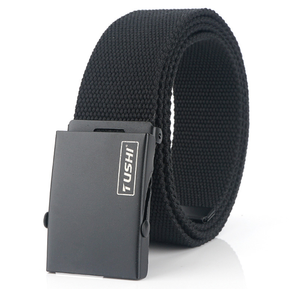 Men's Outdoor Sport Tactical Nylon Belts Men Canvas  Riem Ceinture Homme Designer Jeans Belts
