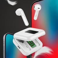 X40-auriculares inalámbricos Mini con Bluetooth 5,0, cascos internos estéreo recargables, Larga modo de reposo de tiempo, manos libres, sin retraso