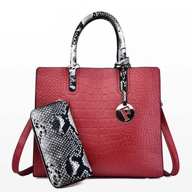 หนัง big sacs หลัก femme สุภาพสตรีกระเป๋าผู้หญิง crossbody สุภาพสตรีกระเป๋าถือ sac femme 2019 nouveau กระเป๋าถือ