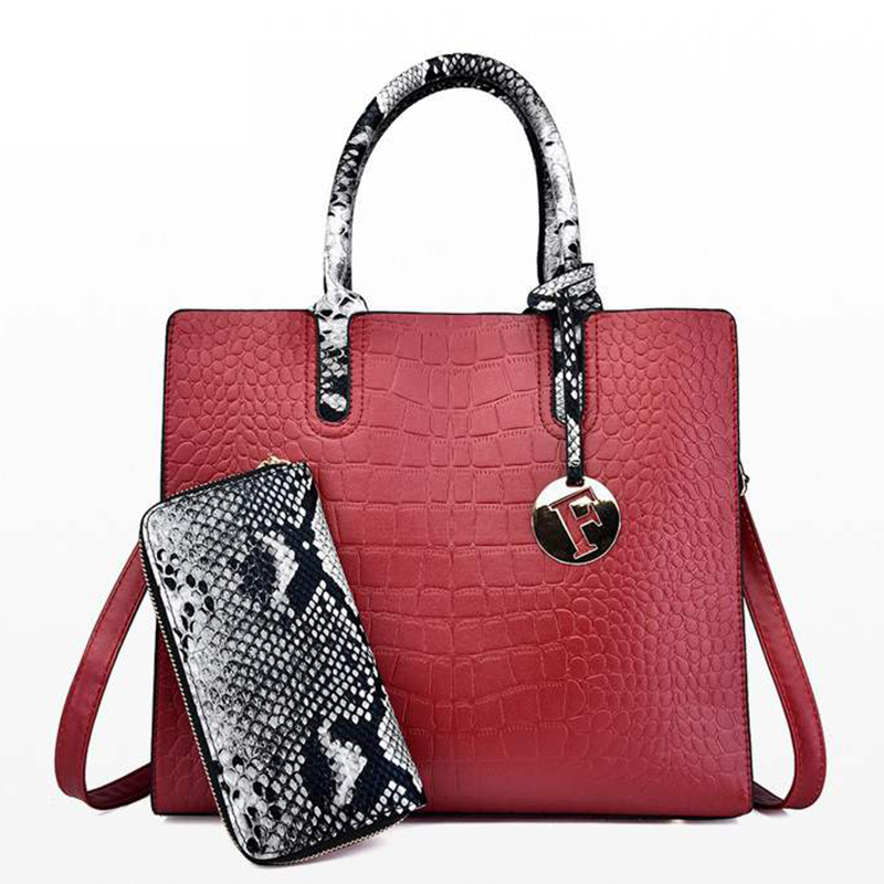 leather big sacs main femme ladies hand bags for women crossbody ladies tote shoulder bag sac femme 2019 nouveau handbags-in Top-Handle Bags from Luggage & Bags