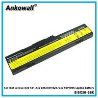 For IBM Lenovo X30 X31 X32 02K7039 02K7040 92P1096 Laptop Battery