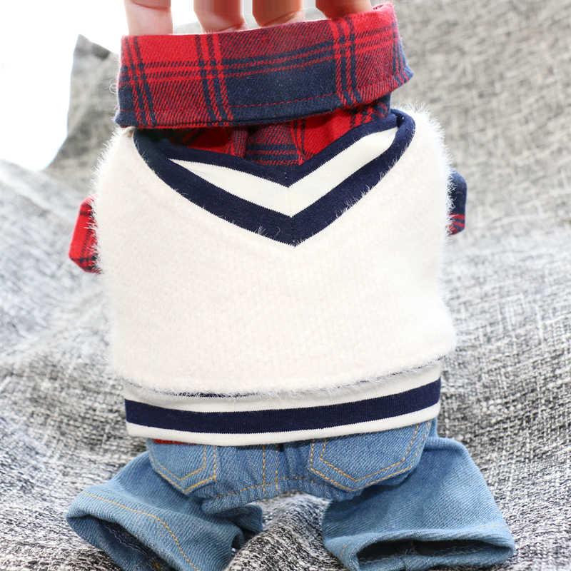 Hond Kleding Winter Warme Hond Fancy Dress Costum Puppy Doeken Ropa Perros Jurk Up Props Huisdier Accessoires Winter Pak II50GTZ