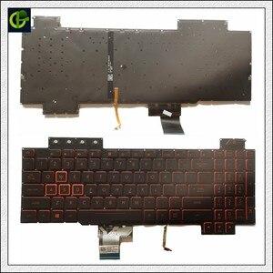 Image 3 - Orijinal İngilizce arkadan aydınlatmalı klavye için ASUS ROG FX504 FX504G FX504GE FX504GD fx504gm abd laptop