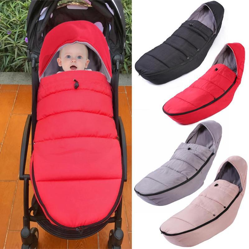 Baby Stroller Sleeping Bag Winter Warm Infant Wheelchair Envelope Footmuff Autumn Baby Infant Warm Stroller Sleeping Bag