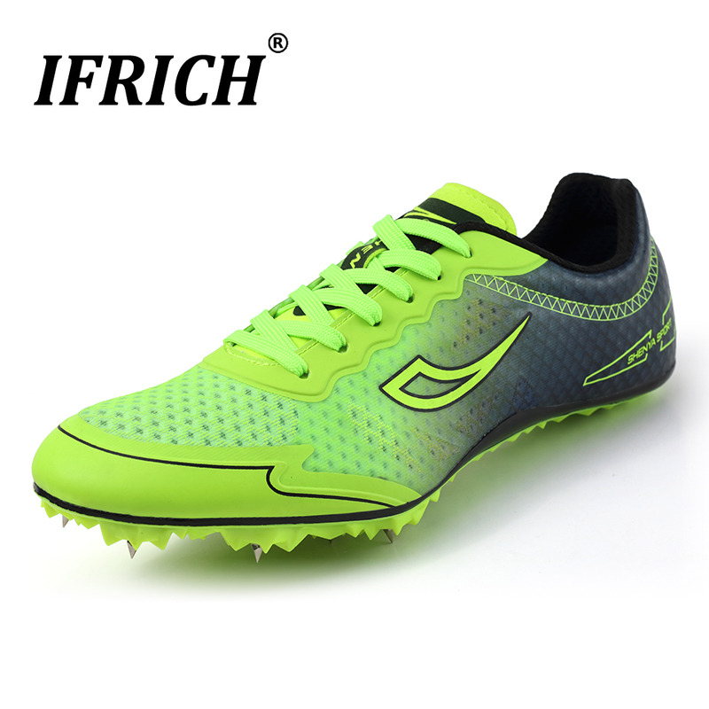 Men Women Track Spikes Shoes Track