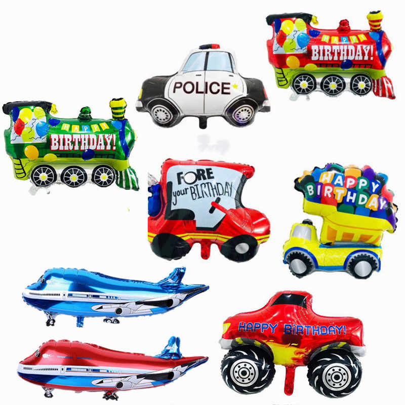 Bricolage Dessin Anime Voiture Ballons Camion Train Avion Feuille