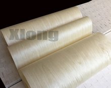 Length:2.5meters Width:55cm Thickness:0.25mm Light White Maple Veneer Furniture Wood Door Decorative Veneer