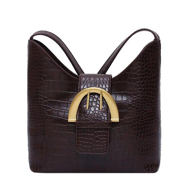 Vintage Bucket Shoulder Bag  5