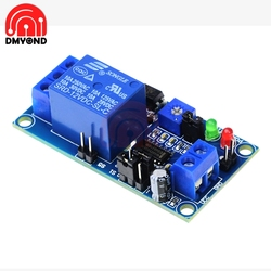 Módulo de interruptor de relé de retardo normalmente abierto de 12V CC, con temporizador, ajuste electrónico, potenciómetro de retardo de encendido y apagado
