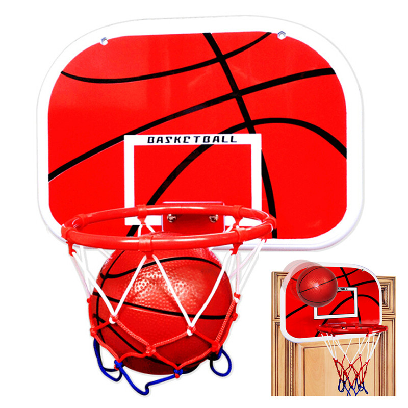 Hanging Basketball Hoop Indoor Basket Ball For Door Mini Basketball Board Home Family Basket Children Game Basketball Toy