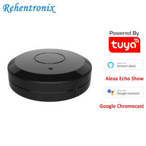 Image 1 - Tuya Wifi Smart IR Remote Controller Compatible with Alexa Google Home Smart Home Air Conditioner TV Fan STB Infrared Products