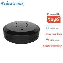 チュウヤwifiスマートirリモートコントローラと互換性alexa googleホームスマート家庭用エアコンテレビファンstb赤外線製品