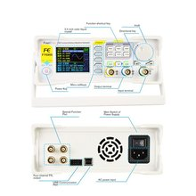 DDS Dual-channel Digital Function Arbitrary Waveform Signal Generator 250MSa/s 40MHz 14bits Frequency Meter Hot Sale
