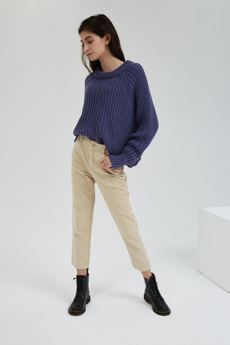 H8eef4a4a60c54ca4a31c1593b180fe90L - Wixra Women Corduroy Pants Ladies Casual Bottoms Female Trouser Straight Pants Autumn Winter High Waist Trousers
