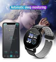 Fitness Armband Blutdruck Messung Smart Band Wasserdichte Fitness Tracker Uhr Frauen Männer Herz Rate Monitor