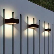 LED Wall Light Garden Lamp  Outdoor Waterproof Porch Light Modern Indoor Wall Lamps Living Room Corridor Patio Lighting NR-113