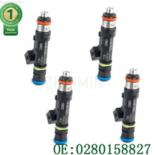 NEW set 4X Fuel Injector 1300cc fo IVECO OPEL VAUXHALL 1996 10 Nozzle Injector Petrol Gas Injection Valve 0280158827