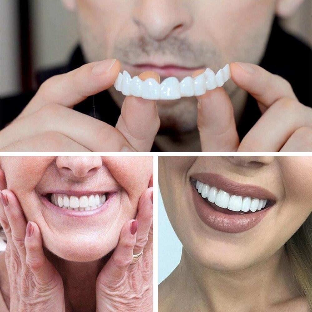 H8eef91e80b404ab08a526886a9cad178c - Dentures False Teeth Cover Upper Lower Perfect Smile Comfort Fit Flex Denture Braces Teeth Whitening