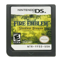 DS Game Cartridge Console Card Fire Emblem Shadow Dragon USA Version English Language for Nintendo DS 3DS 2DS image