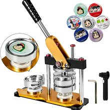 Pin-Maker Button-Badge-Maker-Machine Button-Parts Circle-Cutter with 100pcs And 32mm