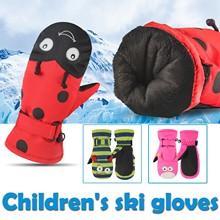 Warm Gloves Outdoor Waterproof Cute New Snow Cartoon Fasion Sagace Bulky