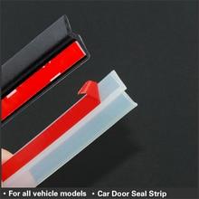 4 متر Z نوع سيارة مانع تسرب للباب عزل الصوت شفاف أسود ختم الشريط عالية الجودة السيارات شريط عزل مانع تسرب الباب