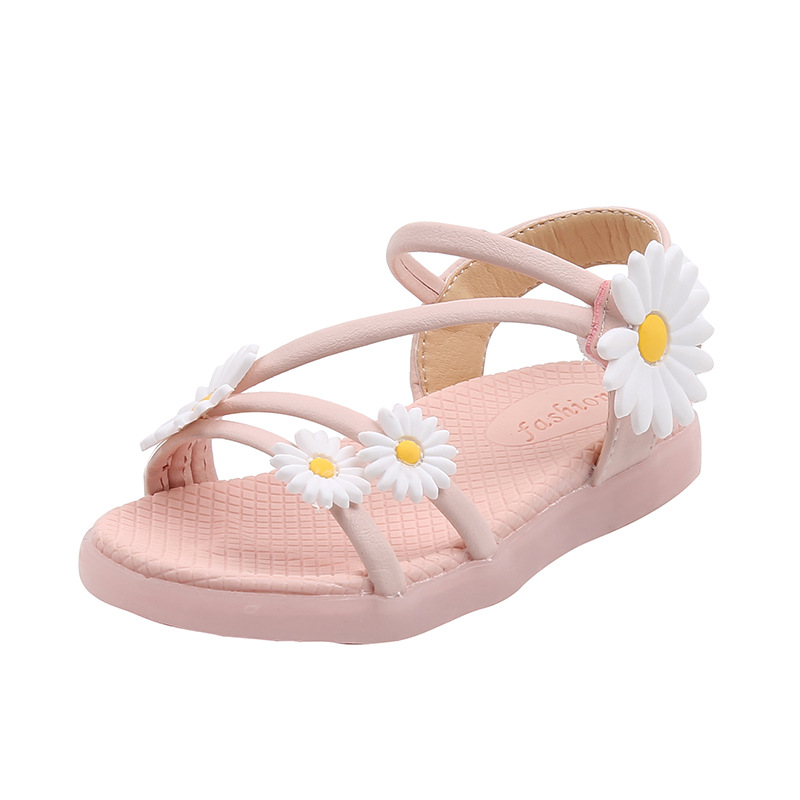 Summer Kids Girl Shoes Sandals Children Sandals For Girls Fashion Casual Bowknot Girls Flat Pricness Shoes Baby Toddler Shoes