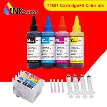 Ink-Cartridge Printer Epson 16xl T1621 Refill Ink Workforce INKARENA WF2520NF 400ml
