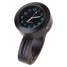 G8TE Waterproof Bike Watch Glow In Dark Clock Motorcycle Alluminum Alloy Dial Mini for Mounting Bicycle Handlebar Dropship