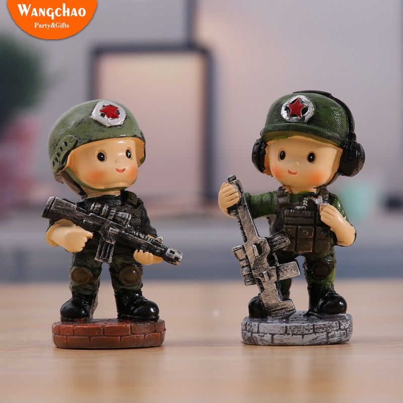 Incredible Resin Military Army Special Forces Party Theme Cake Topper Boy Funny Birthday Cards Online Aeocydamsfinfo