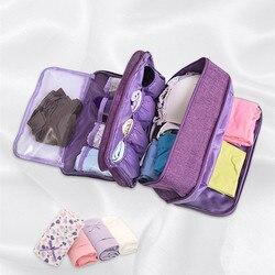 Sutiã underware gaveta organizadores divisores de armazenamento de viagem caixa meias saco briefs pano caso vestuário acessórios suprimentos